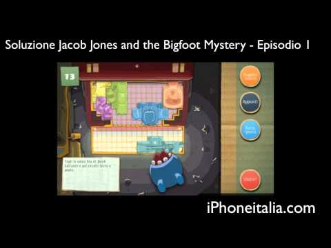 iPhone, iPad e PSVita - Soluzione Enigmi Jacob Jones and the Bigfoot Mystery / Walkthrough