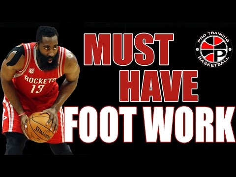Reverse Pivot and Forward Pivot   Must Have Foot Work   Pro Training Basketball