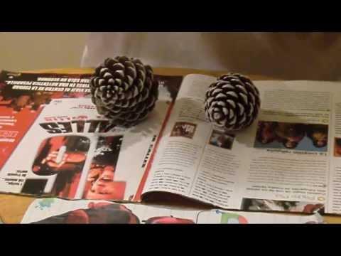 Adornos Navidad: Centro de mesa (Christmas Centerpiece)