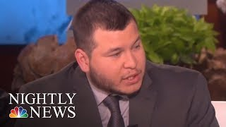 Las Vegas Security Guard Breaks Silence On Ellen DeGeneres' Show | NBC Nightly News - NBCNEWS