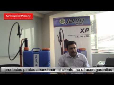 Nueva fumigadora pulverizadora manual JACTO XP de Vidagro