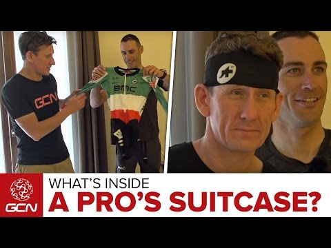 What's Inside A Pro Cyclist's Suitcase? With Team BMC's Manuel Quinziato