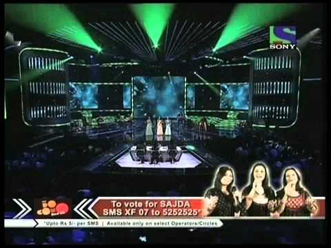 Sajda Sister's gallant performance on Mehboob Mere- X Factor India - Episode 17 - 9th Jul 2011