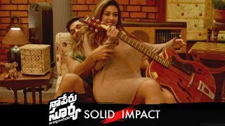 Naa Peru Surya Naa Illu India Solid Impact Promo 02 | Allu Arjun, Anu Emmanuel | TFPC - TFPC