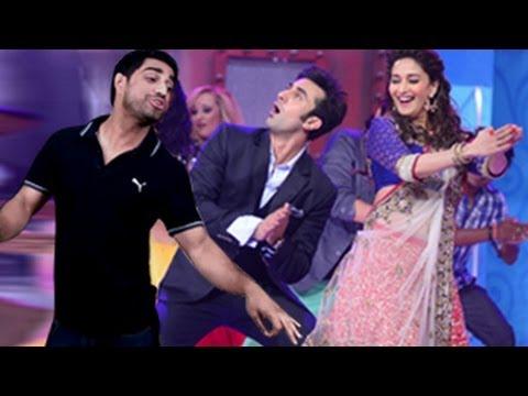 Ranbir Kapoor & Madhuri Dixit on Jhalak Dikhla Jaa 6 Grand Premiere