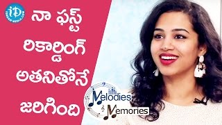 Manisha About Her First Song Recording || Melodies And Memories - IDREAMMOVIES