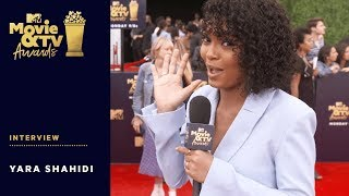 Yara Shahidi Talks Lena Waithe & Social Activism | 2018 MTV Movie & TV Awards - MTV