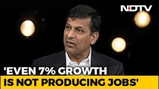 """Lack Of Jobs A Serious Problem"": Raghuram Rajan To NDTV - NDTV"