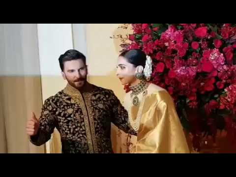 Ranveer Singh can't take his eyes off his bride Deepika Padukone