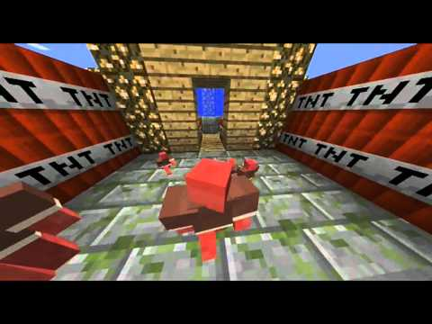Minecraft Clay Soldier Paratrooper Battle