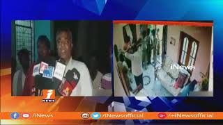 Police Overaction In Kurnool   Police Thrashes With People   iNews - INEWS