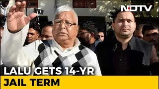 Lalu Yadav Sentenced To 14 Years Jail In 4th Fodder Scam Case - NDTV