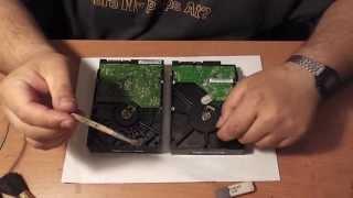 Ремонт и восстановление HDD (Чиним с верой в чудо!)