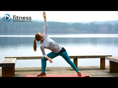 Lake Yoga Workout- Lengthen, Strengthen, and release