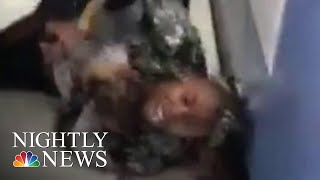 NYPD Reviewing Video Of Officers Prying Baby From Mom's Arms | NBC Nightly News - NBCNEWS
