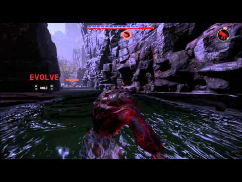 Evolve Alpha Xbox One Assault and Goliath Gameplay (HD) 1080p