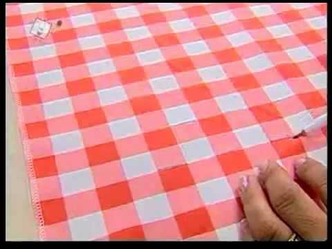 Valéria Soares - Cortina de Cozinha em Capitonê