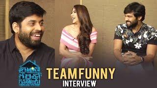 Chikati Gadilo Chitha Kotudu Team Funny Interview | Adith | Nikki Tamboli | Hemant - TFPC
