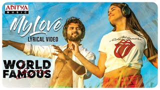My Love Lyrical Video | Vijay Deverakonda | RaashiKhanna|Catherine|IzabelleLeite|AishwaryaRajesh - ADITYAMUSIC