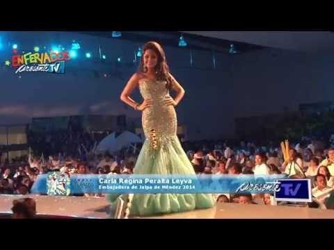 Jalpa de Méndez - Elección de la Flor Tabasco 2014 - Carla Regina Peralta Leyva