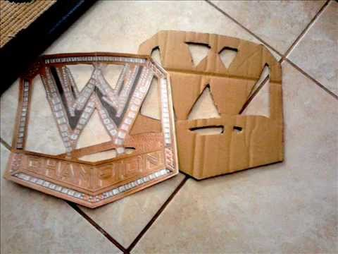 How to make the new WWE Championship belt part 1