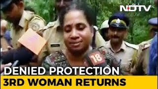 On Your Own, Cops Told Woman After Sabarimala Protests Forced 2 To Return - NDTV