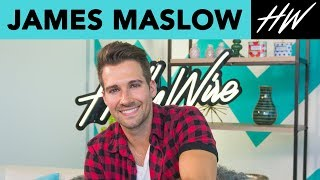 JAMES MASLOW Gives us a SINGING TUTORIAL and Talks Dancing with the Stars !! - HOLLYWIRETV