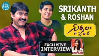 Srikanth & Roshan Exclusive Interview || Talking Movies with iDream #212 || #Nirmalaconvent - IDREAMMOVIES