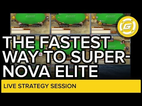 Fastest Way to Get Supernova Elite - 8 Table Zoom Session