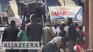 In South Africa, Zimbabwe citizens react to crisis at home - ALJAZEERAENGLISH