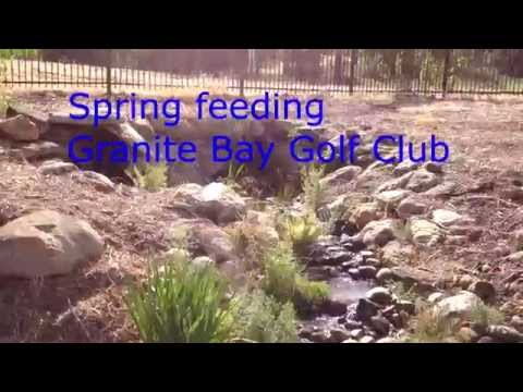 Granite Bay Golf Course Spring Water