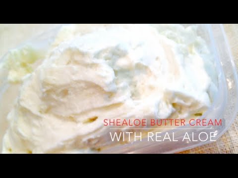 How To Make Shealoe Buttercream (for Hair & Skin)