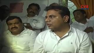 KTR and MP Kavitha Visits Kondagattu Bus Incident Victims | Jagtial District | CVR News - CVRNEWSOFFICIAL