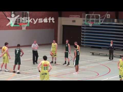 Said Ahmad Highlights vs. Knokke (with local national team)