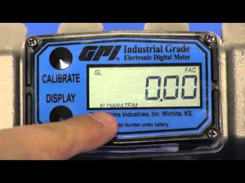 GPI PVDF Chemical Flow Meters | Instrumart