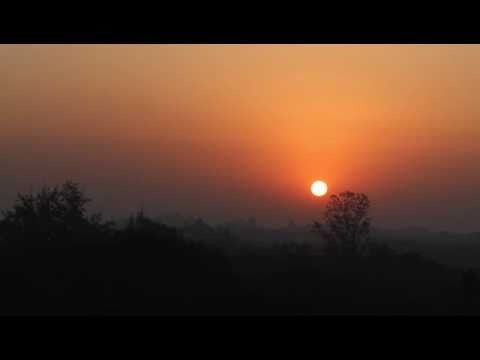 Sunrise at IIT Bombay, Mumbai- Time Lapse Video