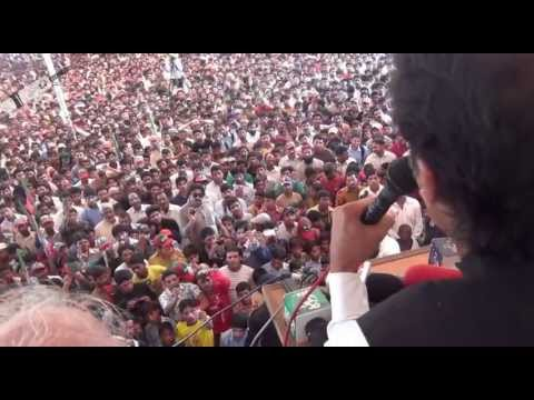 Imran Khan speech in Zafarwal 2nd May 2013