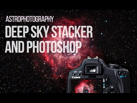 Astrophotography Tutorial - Deep Sky Image Processing with Photoshop