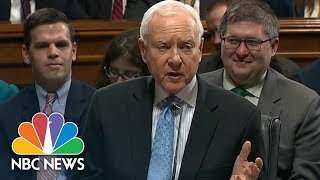 Senator Orrin Hatch Against Bill To Protect Robert Mueller But Warns Of Impeachment Risk | NBC News - NBCNEWS