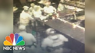 Security Footage Shows Fugitive Lois Riess' Arrest | NBC News - NBCNEWS