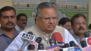 Our jawans are always ready to fight Naxals: CM Raman Singh - TIMESOFINDIACHANNEL