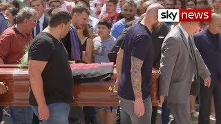 Outpouring of love for Sala in Santa Fe for memorial - SKYNEWS