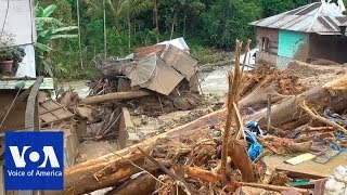 At least 22 dead in Indonesia floods and landslides - VOAVIDEO
