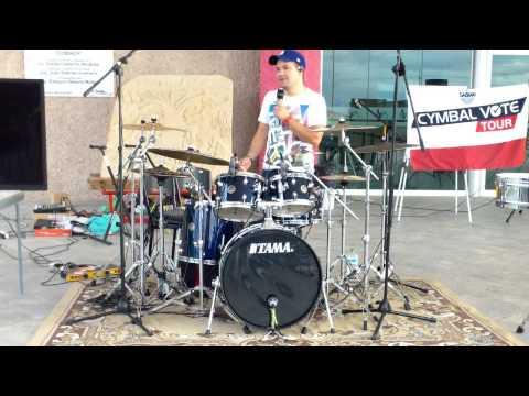 SABIAN, Tour Cymbal Vote 2013, Audio y música de tapachula PT2