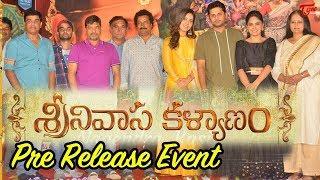Srinivasa Kalyanam Pre Release Event    Nithiin    Raashi Khanna    TeluguOne - TELUGUONE