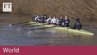 Oxford's women rowers pull together for equality - FINANCIALTIMESVIDEOS