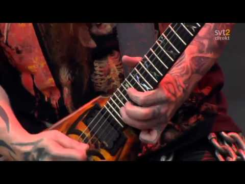The Big 4 - Slayer - Black Magic Live Sweden July 3 2011 HD