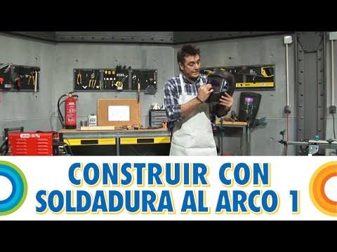 Construir banco con soldadura al arco (1 de 5) -  BricocrackTV