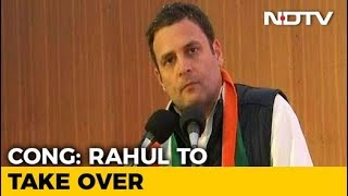 Rahul Gandhi To Take Charge As Congress President Today - NDTV