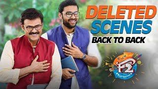 F2 Back to Back Deleted Comedy Scenes - Venkatesh, Varun Tej, Tamannah, Mehreen - DILRAJU